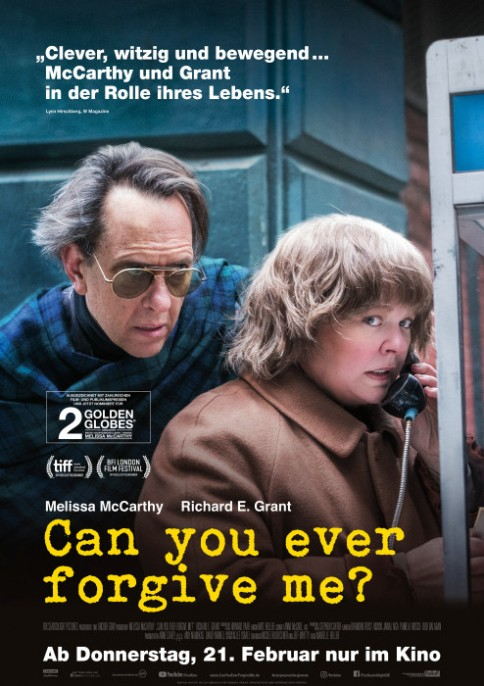 Can You Ever Forgive Me?, USA 2018