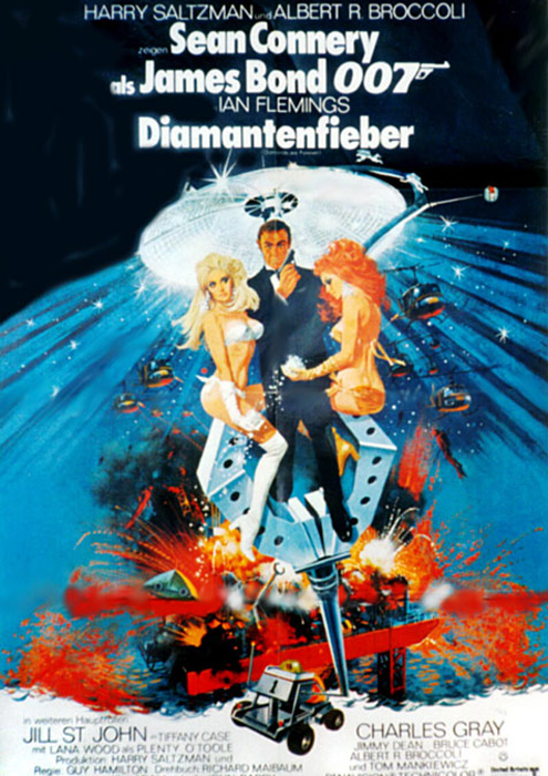 Diamonds Are Forever - GB 1971