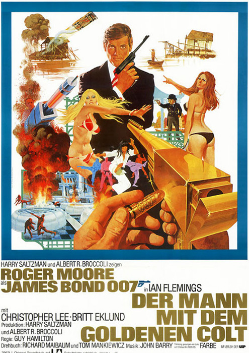 The Man with the Golden Gun - GB 1974