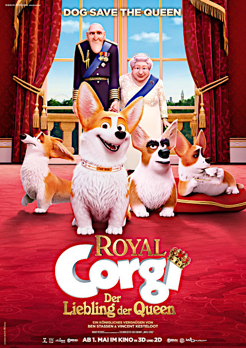 The Queen's Corgi, B 2018