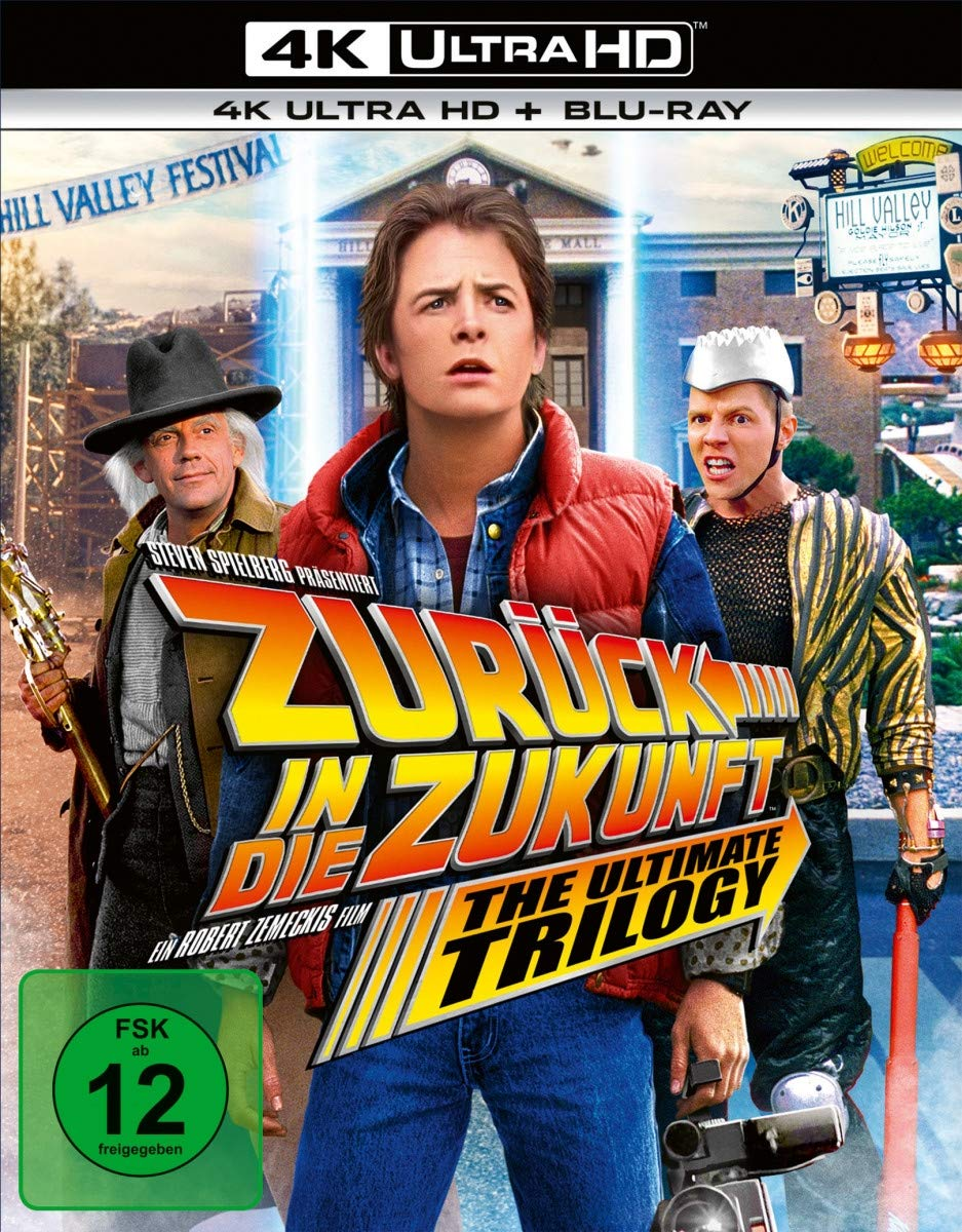 Back to the Future Trilogy - GB 1985, 1989, 1990